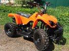 Новое фотографию  Продаем новый детский бензиновый квадроцикл Мини АТV: модель X16 c электростартером 32634284 в Алексине