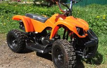 Продаем новый детский бензиновый квадроцикл Мини АТV: модель X16 c электростартером