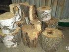Распил берёзовый на дрова