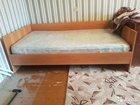 Кровать 1,5 и матрас