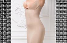 Корректирующее платье, цвет бежевый