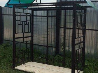 Свежее foto Двери, окна, балконы Дровница на дачу 36888101 в Балаково