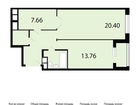 Продается 2-комн. квартира . Квартира расположена на 6 этаже