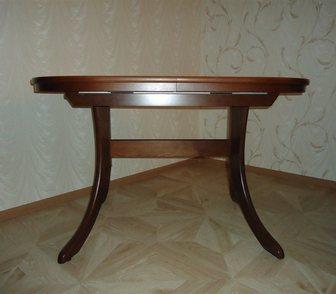 Фото в Мебель и интерьер Мебель для гостиной продам стол овальный, раскладной, цвет венге, в Барнауле 10000