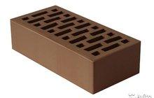 Кирпич коричневый (Шоколад) облицовочный нзкм