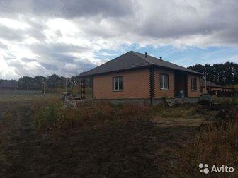 Продам новый дом в посёлке комсомольский,  В доме три комнаты, кухня-гостиная с выходом на крытую терассу, санузел, котельная в плитке, просторный холл,  Все коммуникации в Белгороде