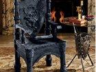Скачать фото Другие предметы интерьера Трон из металла кованый,выполненный в средневековом стиле, 32899929 в Белореченске
