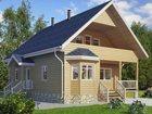Свежее foto Строительство домов Строительство домов коттеджей баньлюбой сложности от 9000р/м2 34402903 в Бийске