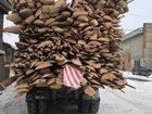 Горбыль долготьем и пиленный, дрова колотые сосна