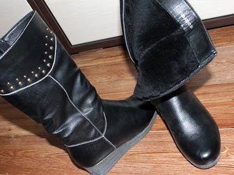 Свежее foto Детская обувь Сапоги подростковые зимние, р, 35 (маломеры) 33794919 в Бийске