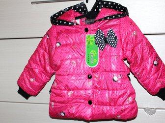 Просмотреть foto Детская одежда Куртка-пальто на синтепоне и меху, р, 80, 86, 92 33794962 в Бийске
