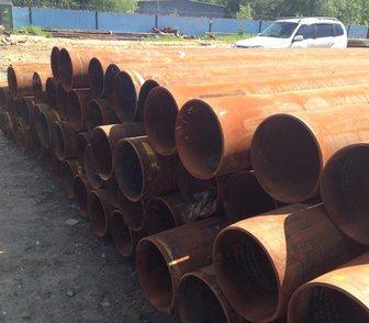 Фотография в Труба стальная Бу, восстановленные 219х6 прямошовная, обработанная, с фасками. в Бийске 0