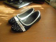 Детская обувь Продам детские балетки 32 размер, одевали один раз