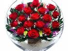 Увидеть фотографию Другие предметы интерьера Композиция из красных роз (арт, ELR-02) 53939932 в Челябинске