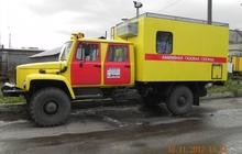 Автомобиль Аварийная газовая мастерская с двухрядной кабиной на шасси ГАЗ 33088 Садко