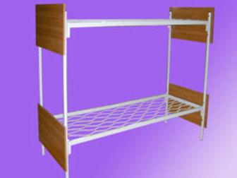 Свежее изображение Мебель для спальни Металлические кровати эконом класса, двухъярусные кровати 70470086 в Чите