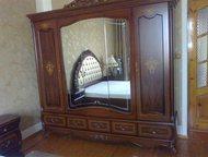 """Спальня Каролина,светлый орех,новая,на ножках Спальня """"Каролина"""", светлый орех,"""