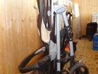 Скачать фотографию Детские коляски Прогулочная коляска-трость Everflo PP-07, цвет коричневый с бежевым, регулируемая спинка в 3-х положениях, 5-точечные ремни безопасности с мягкими накладками 32910895 в Дмитрове