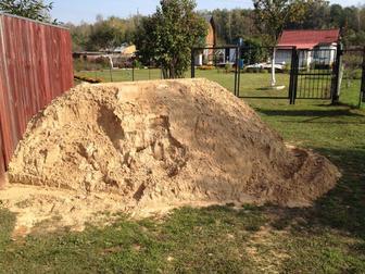 Новое изображение Строительные материалы Песок строительный для строительных работ с доставкой 21115176 в Одинцово