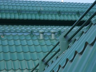Смотреть фото  Снегозадержатели трубчатые для кровли 35869458 в Дмитрове