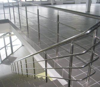 Фотография в Недвижимость Гаражи, стоянки Перила из нержавеющей стали. Лестничные ограждения в Домодедово 0