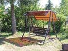 Фотография в   Садовые, разборные качели с козырьком из в Егорьевске 14000