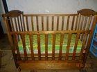 Фотография в Для детей Детская мебель Кроватка детская выполнена из массива березы в Екатеринбурге 3000