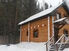 Скачать фотографию Гостиницы, отели База отдыха Лесное озеро, Коттедж с баней (100 м, кв,) 34939688 в Екатеринбурге