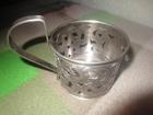 Фото в Хобби и увлечения Антиквариат серебряный подстаканник в хорошем состоянии, в Екатеринбурге 21000