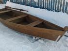Изображение в   Лодка деревянная плоскодонка, длина - 4м. в Екатеринбурге 16500