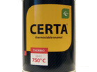 Просмотреть изображение Отделочные материалы Эмаль (краска) термостойкая ЦЕРТА аэрозоль 39020059 в Екатеринбурге