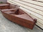 Увидеть фотографию  Лодка деревянная плоскодонка под лаком 40732787 в Екатеринбурге