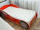 Кровать детская Авто 3-2   ортопедический матрас