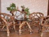 мебель из массива изготавливаем и продаём мебель из массива сосны. плетённая меб