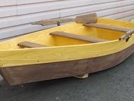 Клумба Лодка Декоративная деревянная лодка. Размеры: длина - 200см. , ширина - 8
