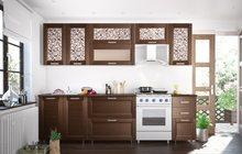 Кухонный гарнитур Селена 52 Каштан (2,6 м) расцветки разные