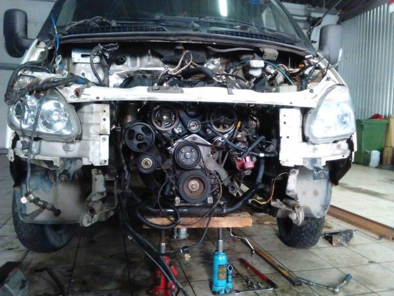 Японский двигатель на газель