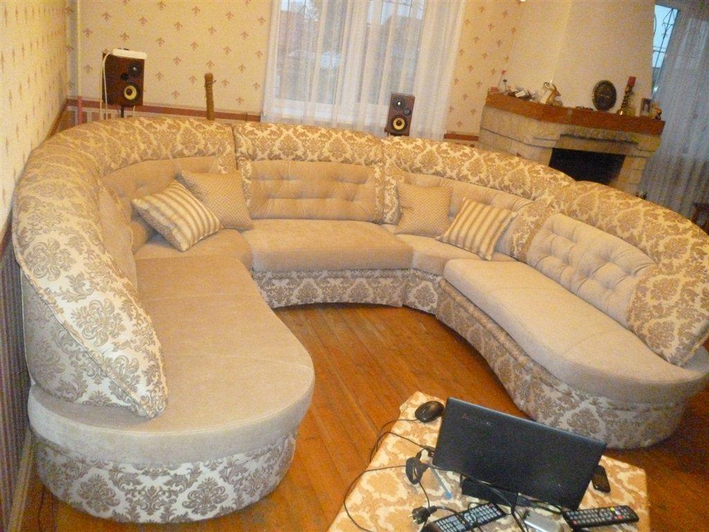 Перетянуть угловой диван своими руками