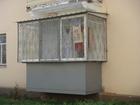Изображение в Строительство и ремонт Двери, окна, балконы Балкон на первом этаже – достаточно востребованный в Хабаровске 0