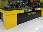 Скачать фото Производство мебели на заказ Торговая Стойка в ресепшн на заказ по вашим размерам в Хабаровске 69164774 в Хабаровске