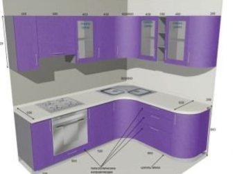 Уникальное фото Мебель для спальни Угловой кухонный гарнитур от производителя 32665827 в Хабаровске