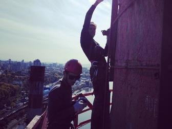Новое фото Другие строительные услуги Обследование, прочистка, ремонт и демонтаж дымовых труб 67712706 в Хабаровске