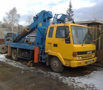 Фотография в Авто Спецтехника От: 350 за м2  Глубина бурения ямобура 10. в Хабаровске 350