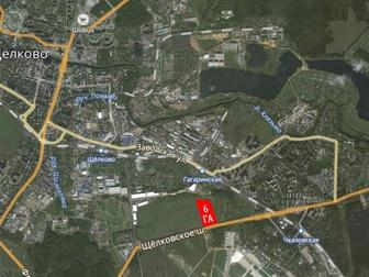 Скачать фотографию  Земля для коммерческих объектов на Щёлковском шоссе в 15 км от МКАД 53450622 в Москве