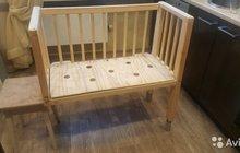 Приставная кроватка для новорожденного