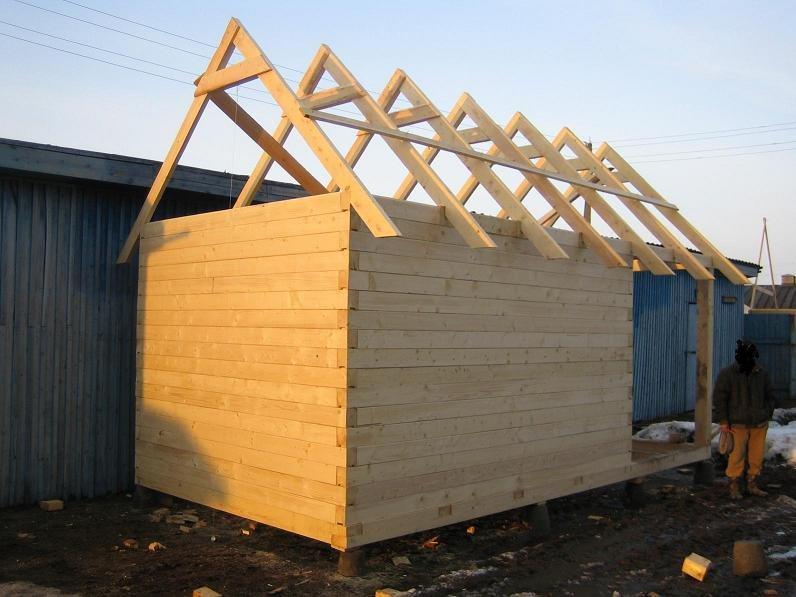 Как построить правильно баню из бруса 150х150 100