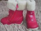 Изображение в   Продам зимние ботинки на девочку. . . размер в Кохме 400