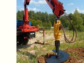 Увидеть фотографию Навесное оборудование Буровое оборудование DCD-6 (Англия) на манипуляторы КМУ и автокраны 32476422 в Красноярске