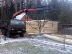 Фото в   Предлагаем услуги манипулятора на базе Камаз в Ярославле 1300