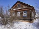 Скачать фотографию  Бревенчатый дом в жилом селе, недалеко от Волги, 240 км от МКАД 59385527 в Угличе